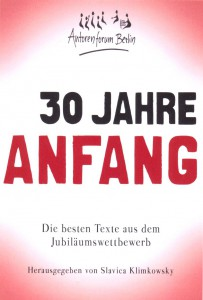 Cover 30 Jahre Anfang