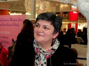Slavica Klimkowsky Frankfurter Buchmesse 2013 Preisverleihung am Stand des Bastei Lübbe-Verlags